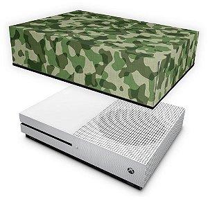 Xbox One Slim Capa Anti Poeira - Camuflagem Verde