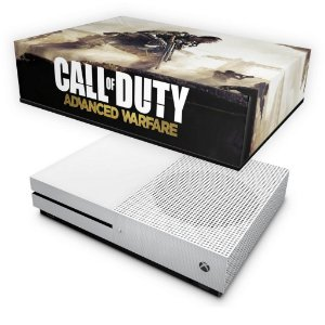 Xbox One Slim Capa Anti Poeira - Call of Duty Advanced Warfare