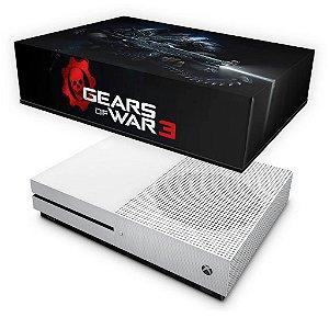 Xbox One Slim Capa Anti Poeira - Gears of War 4