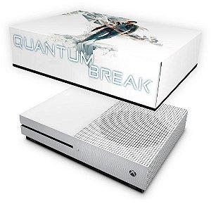Xbox One Slim Capa Anti Poeira - Quantum Break