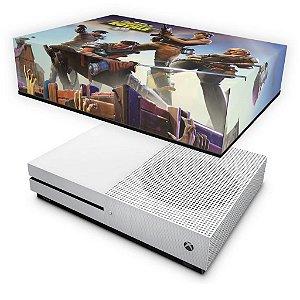 Xbox One Slim Capa Anti Poeira - Fortnite Battle Royale