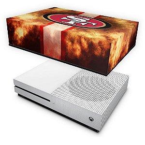 Xbox One S Slim Capa Anti Poeira - San Francisco 49ers - NFL
