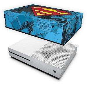 Xbox One Slim Capa Anti Poeira - Super Homem Superman Comics