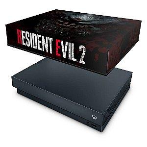 Xbox One X Capa Anti Poeira - Resident Evil 2 Remake
