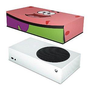 Xbox Series S Capa Anti Poeira - Patrick Bob Esponja