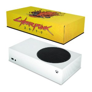 Xbox Series S Capa Anti Poeira - Cyberpunk 2077