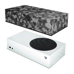 Xbox Series S Capa Anti Poeira - Camuflado Cinza