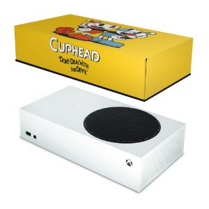 Xbox Series S Capa Anti Poeira - Cuphead