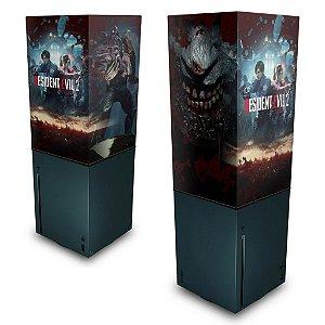 Xbox Series X Capa Anti Poeira - Resident Evil 2 Remake