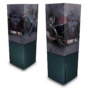 Xbox Series X Capa Anti Poeira - Resident Evil 3 Remake