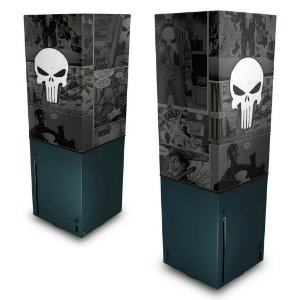 Xbox Series X Capa Anti Poeira - The Punisher Justiceiro Comics