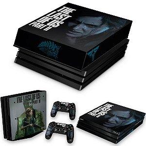 KIT PS4 Pro Skin e Capa Anti Poeira - The Last Of Us Part 2 Ii B