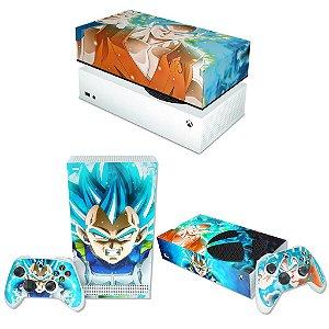 KIT Xbox Series S Skin e Capa Anti Poeira - Dragon Ball Super