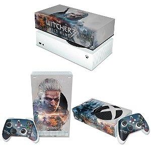 KIT Xbox Series S Skin e Capa Anti Poeira - The Witcher 3