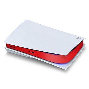 PS5 Central Skin - Vermelho