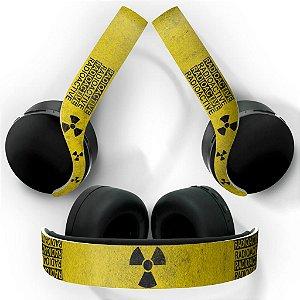 PS5 Skin Headset Pulse 3D - Radioativo