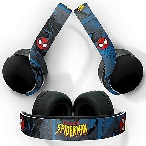 PS5 Skin Headset Pulse 3D - Homem-Aranha Spider-Man Comics