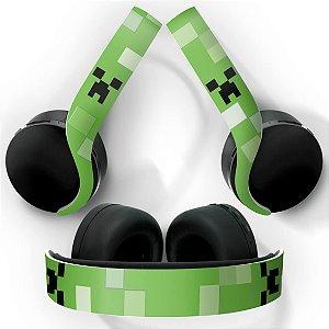 PS5 Skin Headset Pulse 3D - Creeper Minecraft