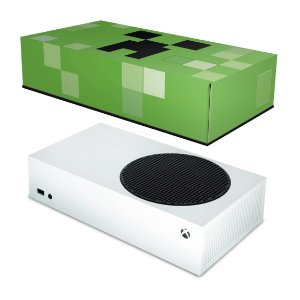 Xbox Series S Capa Anti Poeira - Creeper Minecraft
