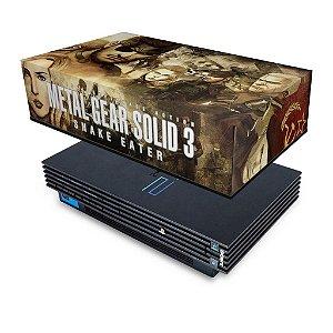 PS2 Fat Capa Anti Poeira - Metal Gear Solid 3