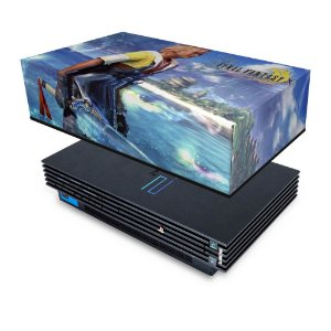 PS2 Fat Capa Anti Poeira - Final Fantasy X