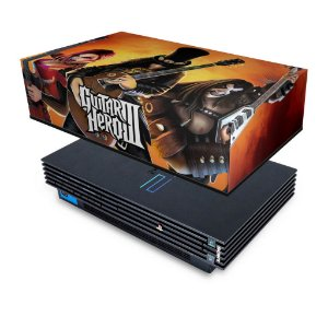 PS2 Fat Capa Anti Poeira - Guitar Hero III 3