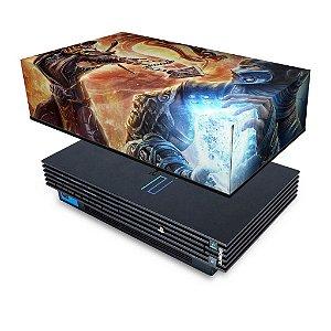 PS2 Fat Capa Anti Poeira - Mortal Kombat