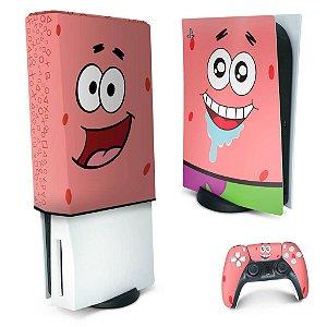 KIT PS5 Skin e Capa Anti Poeira - Patrick