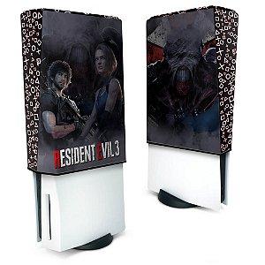 Capa PS5 Anti Poeira - Resident Evil 3 Remake