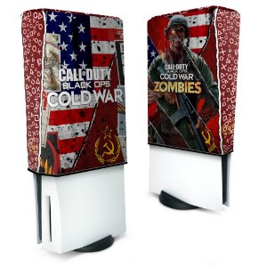 Capa PS5 Anti Poeira - Call Of Duty Cold War