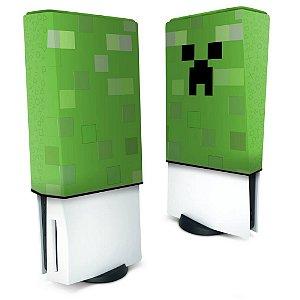 Capa PS5 Anti Poeira - Creeper Minecraft