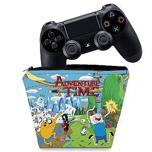 Capa PS4 Controle Case - Hora De Aventura
