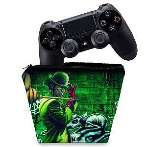 Capa PS4 Controle Case - Charada Batman