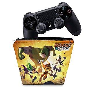 Capa PS4 Controle Case - Ratchet & Clank