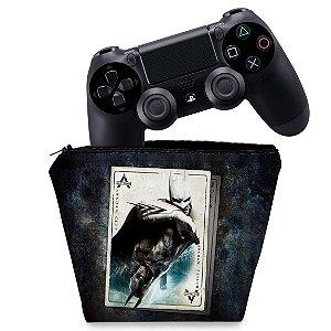 Capa PS4 Controle Case - Batman Return To Arkham