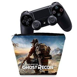 Capa PS4 Controle Case - Tom Clancy'S Ghost Recon Wildlands