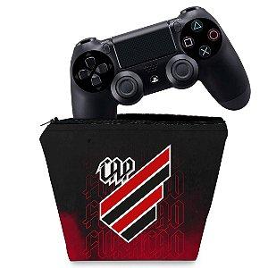 Capa PS4 Controle Case - Atlético Paranaense Cap