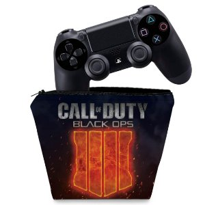 Capa PS4 Controle Case - Call Of Duty Black Ops 4