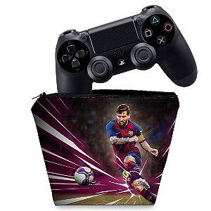 Capa PS4 Controle Case - Pes 2020