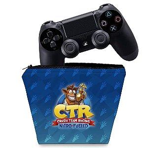 Capa PS4 Controle Case - Crash Team Racing Ctr