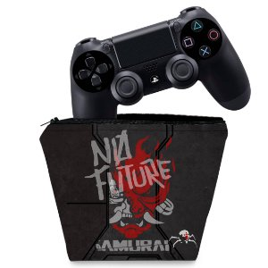 Capa PS4 Controle Case - Cyberpunk 2077 Bundle