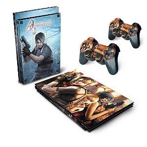 PS2 Slim Skin - Resident Evil 4