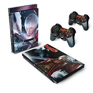 PS2 Slim Skin - Devil May Cry 3
