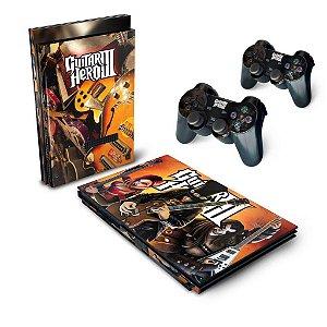 PS2 Slim Skin - Guitar Hero III 3