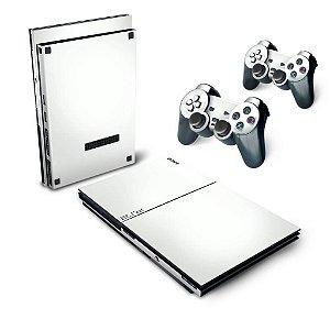 PS2 Slim Skin -Branco
