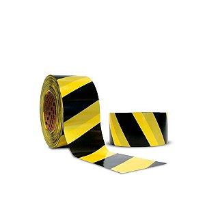 Fita não Adesiva para Demarcação | 70mmx200m | Zebrada