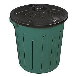 Balde de Plástico com Tampa 30L | Arqplast