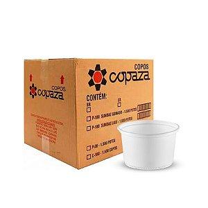 Pote Plástico 300ml | Copaza | Pacote com 50 Unidades