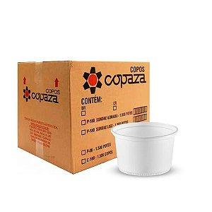 Pote Plástico 400ml | Copaza | Caixa com 1000 Unidades