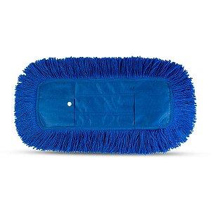 Refil de Cabeleira para Mop Pó | 60cm | Azul